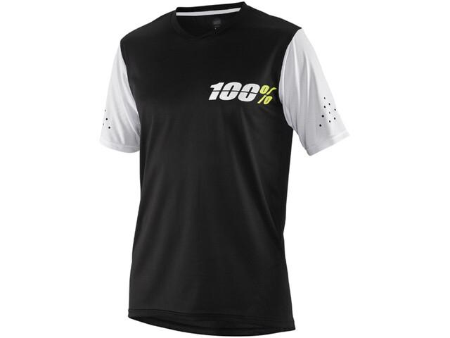 100% Ridecamp Jersey Kinder black